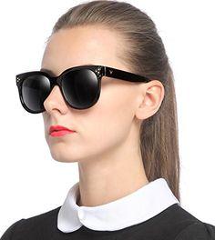 dce3b3250e9 SIPLION Unisex Adult Polarized Wayfarer Sunglasses For Men or Women 15038  Black     Want additional info  Click on the image.