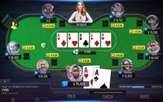الحماس والإثارة: العاب البوكر عبر الإنترنت واحدة من أشهر العاب الطاولة التي تعتمد على الذكاء والمراوغة، تتطلب كثير من الاحترافية والقدرة على قراءة لغة الجسد، حتى يستطيع اللاعب استنتاج قيمة بطاقات الخصوم، وهذا يجعل أجواء اللعب أكثر حماس وتحدي. Win Money, Player 1, Best Positions, Poker Games, Online Poker, Visit Website, Played Yourself, Play Online, Games