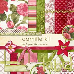 Camille Kit - Digital Scrapbooking Kits DesignerDigitals