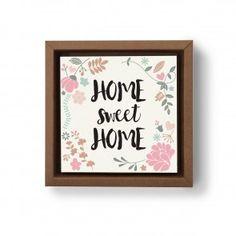 Gravura Home Sweet Home