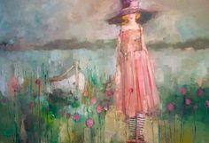 http://www.gibsonfineart.ca Angela  Morgan one day, forever ago