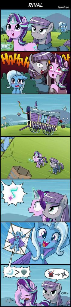 Inversion RD-SL by uotapo on DeviantArt My Little Pony Cartoon, My Little Pony Characters, My Little Pony Pictures, Mlp Comics, Funny Comics, Tiny Horses, Mlp Memes, Mlp Fan Art, Little Poney