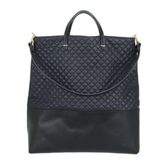 Navy-Quilted-Black-Leather-Matilde-Tote