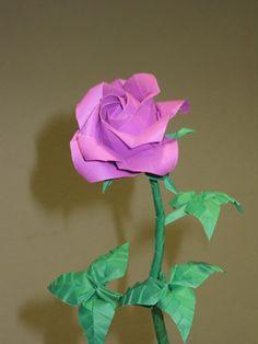 Kawasaki Origami Rose