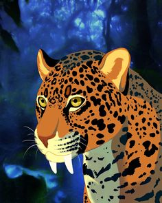 Jaguar by on DeviantArt Jaguar, Cheetah