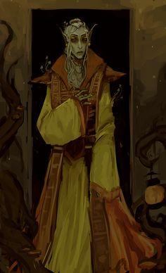scribble of my nerevarine Elder Scrolls Games, Elder Scrolls Online, Character Portraits, Character Art, Character Design, Dnd Characters, Fantasy Characters, Elder Scrolls Morrowind, Dnd Art