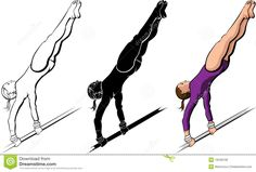 Gymnastics High Bar Routine - Download From Over 26 Million High Quality Stock Photos, Images, Vectors. Sign up for FREE today. Image: 19248108