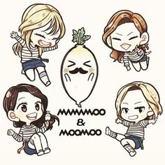 Image result for moonsun mamamoo fanart