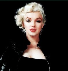 1955: Marilyn by Milton Greene. I think this one looks a bit rocker chic.