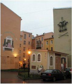 Санкт-Петербург. Двор бывшего госпиталя Семеновского полка в Дойниковом переулке.