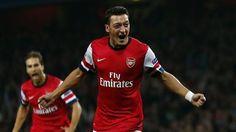 Champions League - Wenger hails 'amazing' Ozil