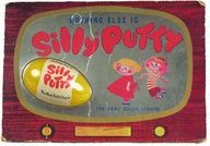 Silly Putty | 1960s fads. Loved this stuff, especially transferring a colored comic to it and then stretching it to look weird.