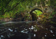 Ponte Hermitage, Escócia