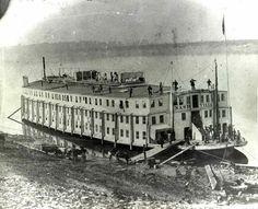 The USS Nashville, Civil war hospital ship