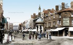 Photo of Chelmsford, High Street 1895 from Francis Frith Ww2 Women, Best Cities, Old Town, The Past, England, Street View, History, World, Pictures