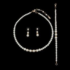 Simple pearls 3pc set