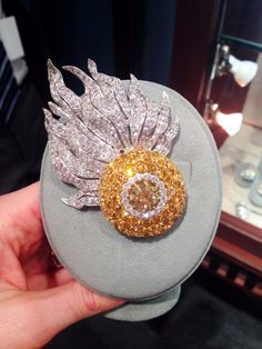 A gorgeous brooch at Richter's – Stefan believes it might be by Paul Flato, but the jewel is unsigned