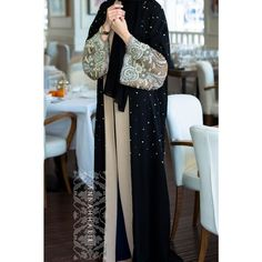 Fancy Lace Abaya Designs Collection 2015-2016 (13)