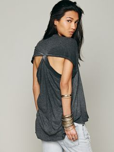 Free People We The Free Mins Drapey Tank at Free People Clothing Boutique