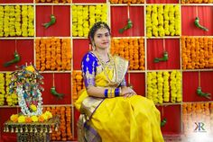 Wedding Stage, Wedding Bride, Bridal Photography, Photography Poses, Baby Shower Decorations, Wedding Decorations, Fox Kids, Bridal Silk Saree, Marriage Decoration