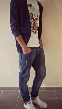 """There is a fame that men don't care about their look. Actually, they DO! So this is your chance. Take a look at our casual men styles :) """"Style is the answer to everything. A fresh wa..."""