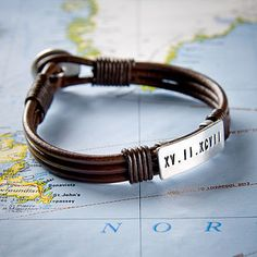 Personalised Special Date Bracelet - bracelets & bangles