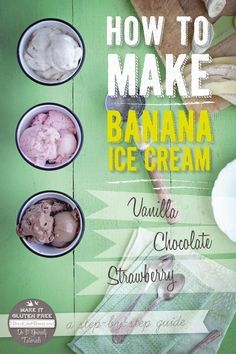 How To Make Banana Ice Cream {Beard and Bonnet} #glutenfree #vegan (scheduled via http://www.tailwindapp.com?utm_source=pinterest&utm_medium=twpin&utm_content=post3534897&utm_campaign=scheduler_attribution)
