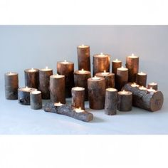 Tree Branch Candles Steelwood Design
