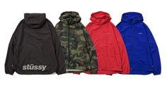 STUSSY Track Pac Slicker Jacket