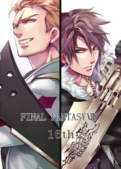 Seifer and Squall - Final Fantasy VIII