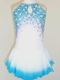 BEAUTIFUL & LOVELY ICE SKATING DRESS SIZE GIRLS MEDIUM in Sporting Goods | eBay