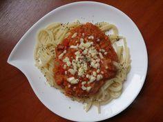 Ala'Antkowe BLW – przepisy BLW : Spaghetti z sosem z czerwonej soczewicy
