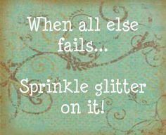Glitter it!