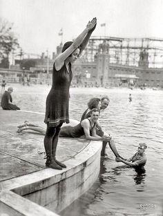 Zwemmen 1921, NYC
