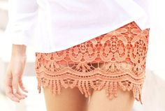 obsessed with lace skirts