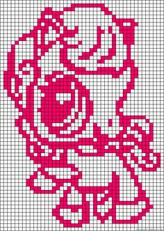 Littlest Pet Shop perler bead pattern