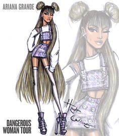 Ariana Grande 'Dangerous Woman Tour' by Hayden Williams: Look 3