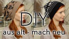 Beanie nähen |DIY| ☀Do it Yourself ☀ Aus alt mach neu ;) Pulli zu Beanie