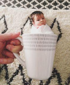 baby mugging!