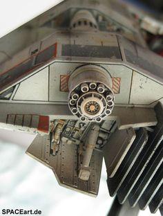 Star Wars: Luke Skywalkers T-47 Snowspeeder, Fertig-Modell ... https://spaceart.de/produkte/sw083.php