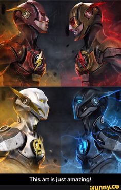 Flash vs Reverse Flash; Godspeed vs Zoom