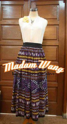 tenun skirt, indonesian tenun