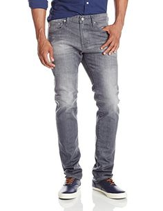 AG Adriano Goldschmied Mens The Nomad Modern Slim Fit Jean with Button Closure Years Crusoe 31x34 *** Details can be found by clicking on the image.