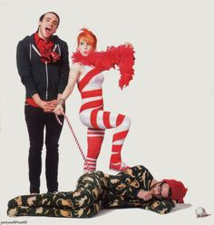 Paramore. This is so funny :) I WANT THIS ON A POSTER