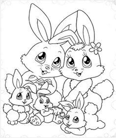Logo abaixo está o link para baixar 130 desenhos, imagens de coelhos de Páscoa! São muitos moldes, riscos, tudo o que você precisa para mon...