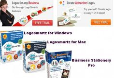 Get your Free copy of Logosmartz Mac & Windows and Business Stationery Pro for designing your business logos and stationery with ease. No designing expertize is needed. For free download offer visit to http://www.logosmartz.com/download_logosmartz.asp