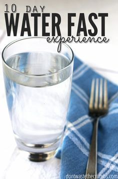 This is a personal story of a 10 day water fast. No food, no medicine. Just 10 full days of water to allow the body to rest and heal. :: http://DontWastetheCrumbs.com