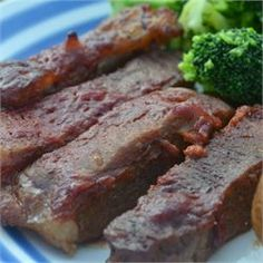 Baked Round Steak in Barbeque Sauce - Allrecipes.com