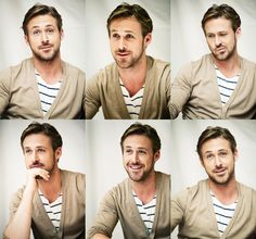 Ryan Gosling. It's tooooo muuuccch