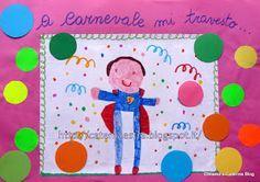 Presento un lavoro di molti anni fa... Leggendo i nomi dei bambini (che ho tolto per la pubblicazione) mi ritornano alla memoria ... Education, Colouring In, School, Party, Alphabet, Activities, Class Decoration, Big Books, Carnavals